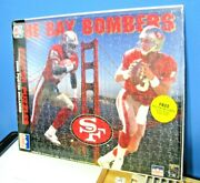 1988 Jerry Rice / Steve Young Puzzle And Poster In Original Sealed Packaging