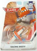 Mattel Disney Planes Racing Dusty Diecast Vehicle With Propeller New Toy Gift
