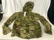 New Army Ocp Multicam Level 5 Soft Shell Jacket Cold Weather Top - Small/regular