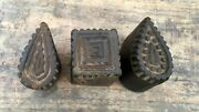 Antique Old Wooden Stamps For Clay Projects Diy Work With Hand Bolck Printing