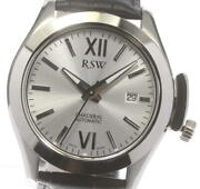 Rsw Chasseral 7240 Silver Dial Automatic Menand039s Watch_607602