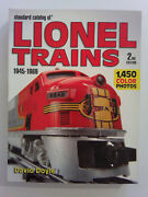 Standard Catalog Of Lionel Trains 1945-1969 By David Doyle 2nd Edition