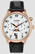 Citizen Eco-drive Month Day Date Moon Disney Mickey Mouse Menand039s Watch Ap1053-15w