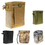 30xmolle System Hunting Magazine Dump Drop Pouch Recycle Waist Pack Ammo Bags