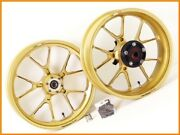 2005 Monster M1000sie Marchesini M10s Aluminum Wheel Front And Rear Set M900ie Yyy