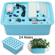 Indoor Hydroponic Planting Box Green House Plants Herbs Grow Cultivation Planter
