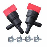 30xpack Of 2 1/4 Inch 90 Degree Fuel Shut Off Valve For Briggs And Stratton
