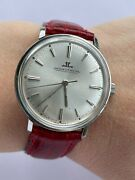 Jaeger Lecoultre Watch Manual Cal.k 885 Mens 34mm Swiss Made Just Serviced