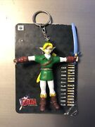 The Legend Of Zelda Link Keychain N64 Collectible Bendable Keychains Series
