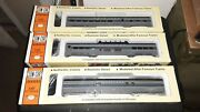 Concor Overland 72and039 Dome Dining Baggage Car Kit Set Of 3