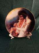 Elvis Presley Collectors Plate 'loving You' The Rock And Roll Legend Las Vegas
