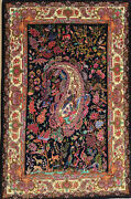 Hand Knotted Pictorial Carpet Tableau Rug Wall Hunting Rug Floor Carpet