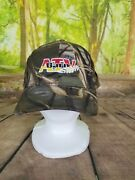 Realtree Mens Camo Atv Barn Embroidered One Size Ajustable Hat New