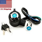 Ignition Switch Lock Key Fit For Harley Davidson Sportster Xl 883 1995-2003 2000