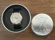 The X-files Collectable Watch In Tin Box Fossil Brand