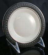 Franciscan Masterpiece Midnight Mist 6 1/4 In China Serving Plates Usa...rare