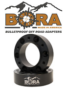 Bora 6 Wheel Spacers For John Deere 4120 Front Axle Only - Usa Made