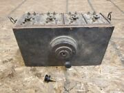 1912 - 1913 Ford Model T Heinz Coil Box With All Original Coils And Switch