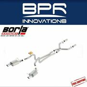 Borla Cat-back Exhaust Atak For 13-2014 Ford Mustang Gt And Boss 302 5.0l - 140516