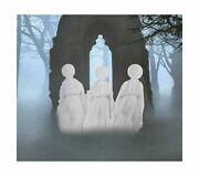 Haunted Hill Farm Lawn Ghosts, Outdoor, Light-up White, Hanging Option, Hhghs...