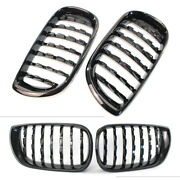 Front Kidney Grille Grill Diamond Mesh Black For Bmw E46 4 Door 2002 2003-2005