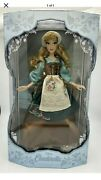 """Disney Store Cinderella Rags Doll 70th Anniversary 17"""" Limited Edition"""