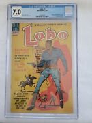 Lobo 1 Dell 1965 7.0 Cgc White Pages First African American Titled Character