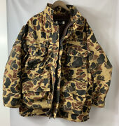 Men's Vintage 10x Duck Hunter Gore-tex Camouflage Jacket Hunting Size Large 2