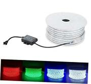 Flexible Led Rgb Rope Light Strip Multi Color Changing Smd 5050 Leds 110 50m