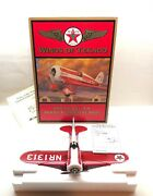 New Wings Of Texaco 1930 Die Cast Travel Air Model R Mystery Ship 5th Series