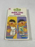 Whitman Sesame Street See And Know Guess Who Cards 1978 30 Cards Golden 4589-20