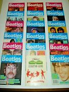 The Beatles Monthly Books X 17 And Revolution Xibition Guide London 1990 Free Post