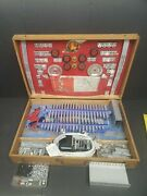 Lionel 454 Construction Kit-original 1948-wood Chest With Insert Book/chart