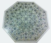 Abalone Shell Stone Inlaid Reception Table Top Exclusive Marble Dining Table Top