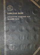 1941 Lincoln Head Cent Collection Book 85 Total Coins B