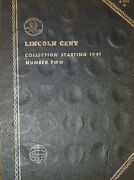 1941 - 1974 Lincoln Head Cent Collection Book 50 Total Coins