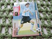 Panini Germany World Cup 2006 47 Lionel Andres Messi Rookie Argentina Card Mt