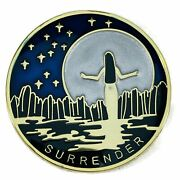 Surrender Specialty Aa/na Recovery Medallion - Blue/gold