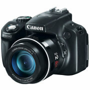 Canon Powershot Sx50 Hs 12.1 Mp Digital Camera With 50x Optical Stabilized Zoom
