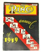 Vintage February 1950 The Ring Boxing Magazine Annual Ratings Of 1949