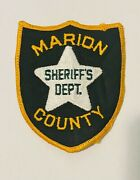 Sought After-marion County Florida Sheriff-police Patch