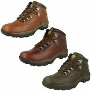 Mens Northwest Territory Casual Lace-up Walking Boots Inuvik