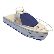 T-top Boat Bow Sun Shade Top Mount On Tower Yacht Awning 600d Waterproof Cloth