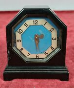 Table Clock. Jaeger Le Coultre. 8 Days. Swiss. Circa 1950.