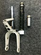 Piper Pa-28 Nose Gear Strut Assembly And Scissor