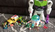 Imaginext Toy Story Lot 3 Playsets And Lots Of X Figures Most Never Played With