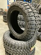 4 New Tires 305 55 20 Maxxis Bighorn Mt 762 Mud 10 Ply Bsw Lt305/55r20