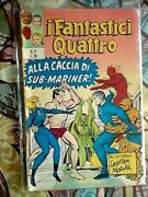 Fantastic Four 27 Italian Edition 1972 First Team Up Doctor Strange Vg To Fn