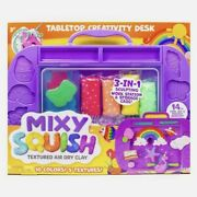 Mixy Squish Tabletop Creativity Desk Textured Air Dry Clay