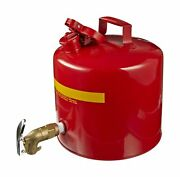 Eagle 1417 Faucet Safety Can, 5 Gallon Capacity, 12-1/2 Width X 13-1/2 Dept...